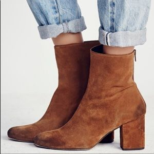 Free People Ceclie Ankle Boots